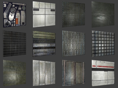 Sci Fi Textures Lost Day Games
